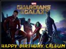 A4 Marvel Guardians of the Galaxy Edible Icing or Wafer Birthday Cake Topper